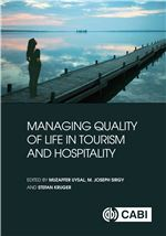 Book cover for Managing quality of life in tourism and hospitality.
