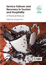 Book cover for Service failures and recovery in tourism and hospitality: a practical manual.