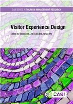 Book cover for Visitor experience design.