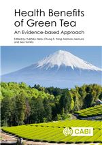 Book cover for Health benefits of green tea: an evidence-based approach.