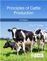 Book cover for Principles of cattle production.