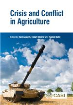 Book cover for Crisis and conflict in agriculture.