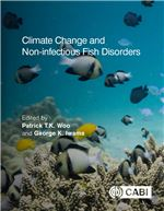 Book cover for Climate change and non-infectious fish disorders.