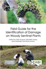 Book cover for Field guide for the identification of damage on woody sentinel plants.