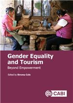 Book cover for Gender equality and tourism: beyond empowerment.