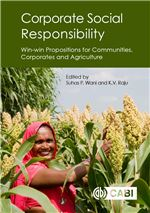 Book cover for Corporate social responsibility: win-win propositions for communities, corporates and agriculture.