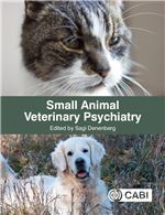 Book cover for Small animal veterinary psychiatry.
