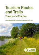 Book cover for Tourism routes and trails theory and practice.