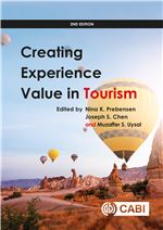 Book cover for Creating experience value in tourism 2nd edition.