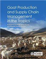 Book cover for Goat production and supply chain management in the tropics.