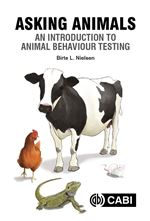 Book cover for Asking animals an introduction to animal behaviour testing.