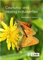 Book cover for Courtship and mating in butterflies