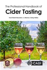 Book cover for The professional handbook of cider tasting