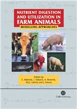 Book cover for Nutrient digestion and utilization in farm animals: modelling approaches.