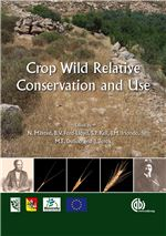 Book cover for Crop wild relative conservation and use.