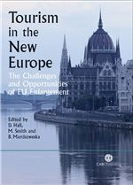 Book cover for Tourism in the new Europe: the challenges and opportunities of EU enlargement.