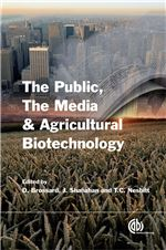 Book cover for The public, the media and agricultural biotechnology.