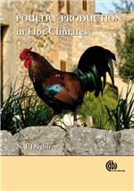 Book cover for Poultry production in hot climates.