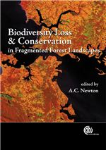 Book cover for Biodiversity loss and conservation in fragmented forest landscapes: the forests of montane Mexico and temperate South America.