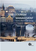 Book cover for Tourism management: analysis, behaviour and strategy.