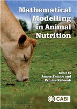 Book cover for Mathematical modelling in animal nutrition.