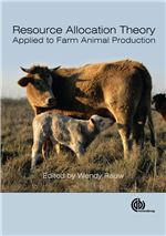 Book cover for Resource allocation theory applied to farm animal production.