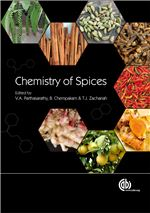 Book cover for Chemistry of spices.