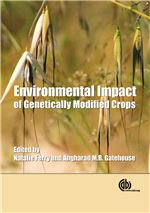 Book cover for Environmental impact of genetically modified crops.