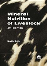 Book cover for Mineral nutrition of livestock.