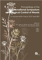 Book cover for Proceedings of the XII International Symposium on Biological Control of Weeds. La Grande Motte, France, 22-27 April 2007.