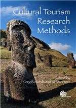 Book cover for Cultural tourism research methods.
