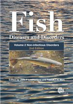 Book cover for Fish diseases and disorders, Volume 2.