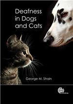 Book cover for Deafness in dogs and cats.