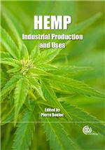 Book cover for Hemp: industrial production and uses.
