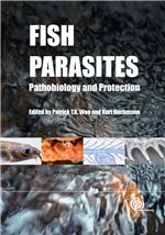 Book cover for Fish parasites: pathobiology and protection.