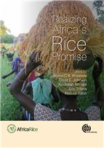 Book cover for Realizing Africa's rice promise.