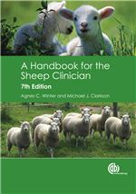 Book cover for A handbook for the sheep clinician.