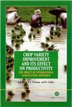 Cover for Potato genetic improvement in developing countries and CIP's role in varietal change.