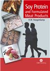 Cover for Soy protein and formulated meat products.