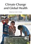 Cover for Climate change and global health.