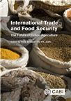 Cover for International trade and food security: the future of Indian agriculture.