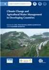Cover for Climate change and agricultural water management in Developing Countries.