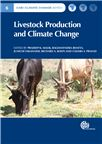 Cover for Livestock production and climate change.