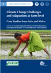 Cover for Climate change vulnerability and adaptation strategies at farm-level: a retrospection.