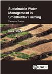Cover for Sustainable water management in smallholder farming: theory and practice.