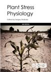 Cover for Plant stress physiology.