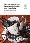 Cover for Service failures and recovery in tourism and hospitality: a practical manual.