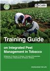 Cover for Training guide on integrated pest management in tobacco.