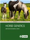 Cover for Horse genetics.