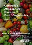 Cover for Controlled atmosphere storage of fruit and vegetables.